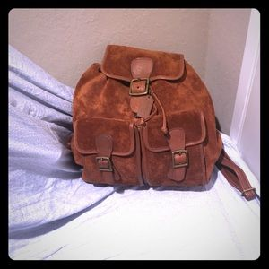 Coach suede back pack for all ages